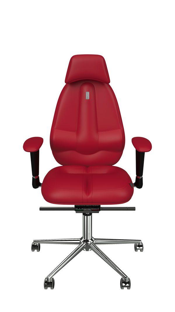 Vrhunski pisarniški stol Classic za udobno in ergonomsko sedenje.