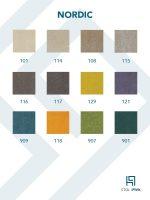 Nordic barvna karta - Pisarniški stoli PIVK